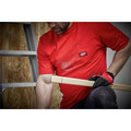 Milwaukee 601R-2X Heavy Duty Short Sleeve Pocket Tee Shirt - Red, 2X image number 4