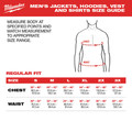 Milwaukee 302B-203X M12 12V Li-Ion Heated Hoodie (Jacket Only) - 3XL image number 4