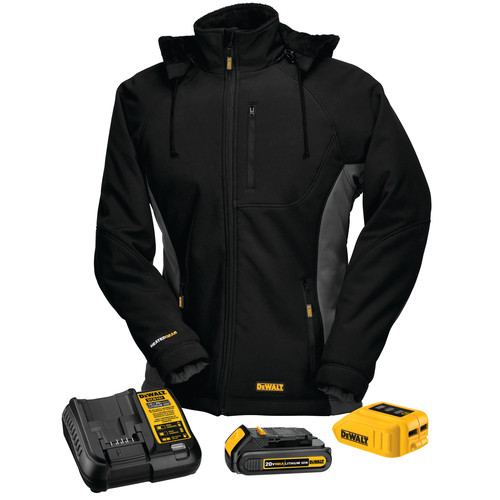 Dewalt DCHJ066C1-XS 20V MAX Li-Ion Women's Heated Jacket Kit - XS image number 0
