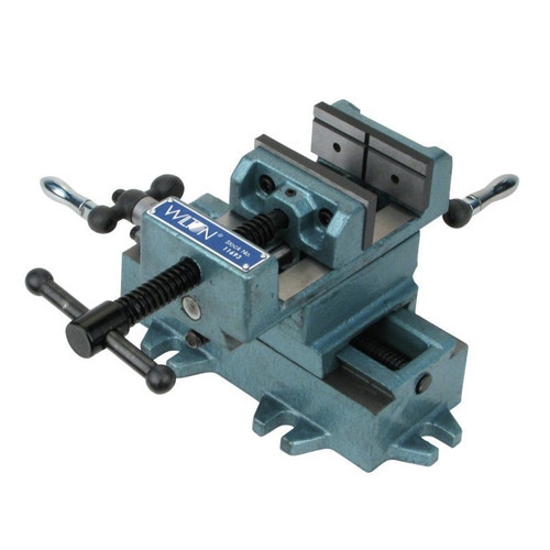 Wilton 11698 Cross Slide Drill Press Vise - 8 in. Jaw Width, 8 in. Jaw Opening, 2 in. Jaw Depth image number 0