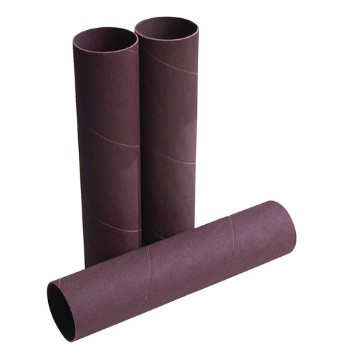 JET 575941 3 in. x 5-1/2 in. 60 Grit Sanding Sleeves (4 Pc) image number 0