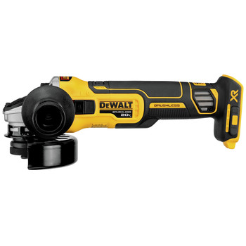 Dewalt DCG405B 20V MAX 4.5 in. Slide Switch Cordless Small Angle Grinder with Kickback Brake (Tool Only)
