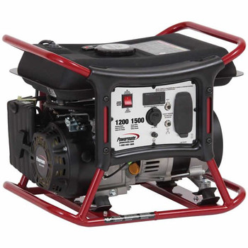 Factory Reconditioned Powermate PM0141201R 1,200 Watt Portable Generator with Manual Start image number 0