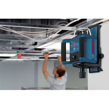 Bosch GRL300HVD Self-Leveling Interior Rotary Laser with Layout Beam Kit image number 1