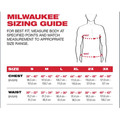 Milwaukee 602R-XL Heavy Duty Long Sleeve Pocket Tee Shirt - Red, X-Large image number 4