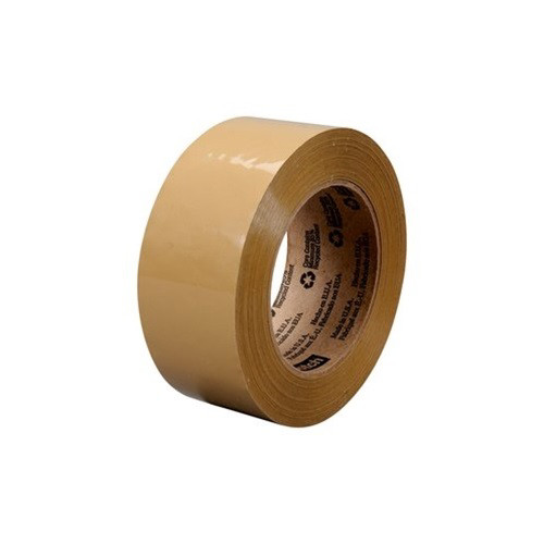 3M 91765 Scotch in. Commercial Grade Packaging Tape, 54.6 yd. x 1.88 in., Tan image number 0