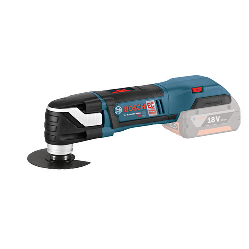 Factory Reconditioned Bosch MXH180BL-RT 18V Cordless Lithium-Ion Multi-X Brushless Oscillating Tool (Tool Only) with L-BOXX-2 and Exact-Fit Insert image number 2