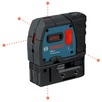 Factory Reconditioned Bosch GPL5-RT 5-Point Self-Leveling Alignment Laser image number 1