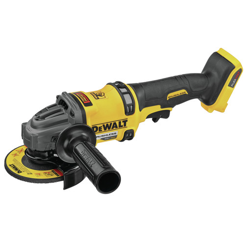Dewalt DCG418B FLEXVOLT 60V MAX Brushless Lithium-Ion 4-1/2 in. - 6 in. Cordless Grinder with Kickback Brake (Tool Only) image number 0