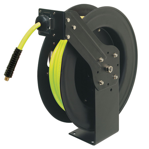 Legacy Mfg. Co. L8611FZ 3/8 in. X 50 ft. Retractable Open Face Hose Reel image number 0