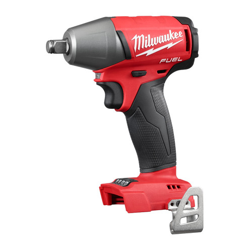 Factory Reconditioned Milwaukee 2755B-80 M18 FUEL Cordless Lithium-Ion 1/2 in. Compact Impact Wrench with Friction Ring (Bare Tool)