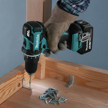 Factory Reconditioned Makita XFD061-R 18V LXT Lithium-Ion Brushless Compact 1/2 in. Cordless Drill Driver Kit (3 Ah) image number 5