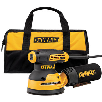 Dewalt DWE6423K 5 in. Variable Speed Random Orbital Sander with H&L Pad and Bag