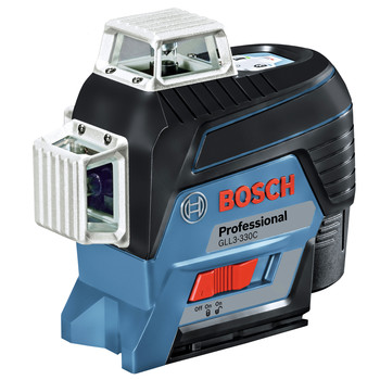 Bosch GLL3-330C 360-Degrees Connected Three-Plane Leveling and Alignment-Line Laser image number 1