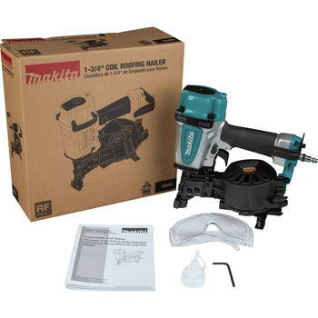 Factory Reconditioned Makita AN454-R 1-3/4 in. Coil Roofing Nailer