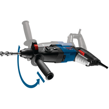 Factory Reconditioned Bosch GBH2-28L-RT 8.5 Amp 1-1/8 in. SDS-Plus Bulldog Xtreme MAX Rotary Hammer image number 3