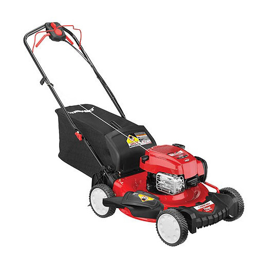 Troy-Bilt TB330 163cc Gas 21 in. TriAction 3-in-1 Self-Propelled Mower