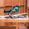 Makita XSL02Z 18V X2 LXT Cordless Lithium-Ion 7-1/2 in. Brushless Dual Slide Compound Miter Saw (Tool Only) image number 11