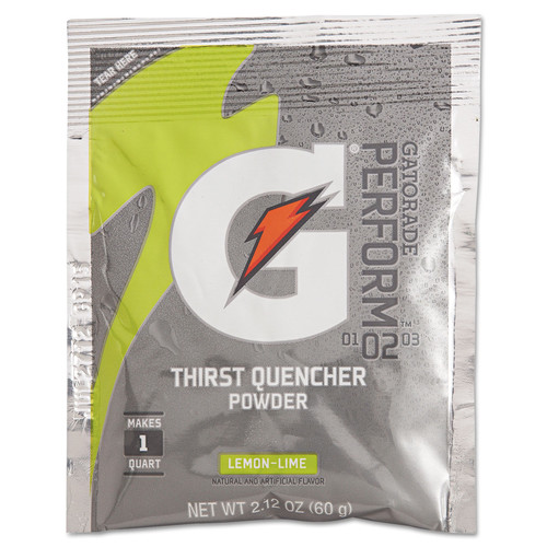 Gatorade 3928 2.12 oz. G2 Powdered Drink Mix (Lemon-Lime) (144-Pack)