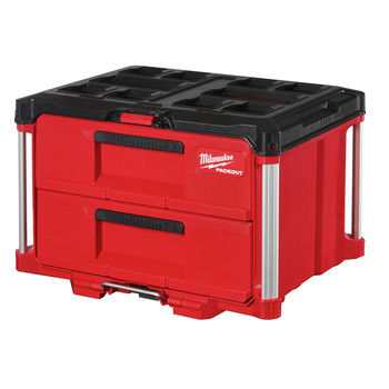 Milwaukee 48-22-8442 PACKOUT 50 lbs. Capacity 2-Drawer Tool Box