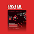 Milwaukee 2962-22 M18 FUEL Lithium-Ion Brushless Mid-Torque 1/2 in. Cordless Impact Wrench Kit with Friction Ring (5 Ah) image number 5