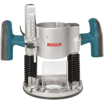 Bosch 1617EVSPK 12 Amp 2.25 HP Combination Plunge and Fixed-Base Router Kit image number 4