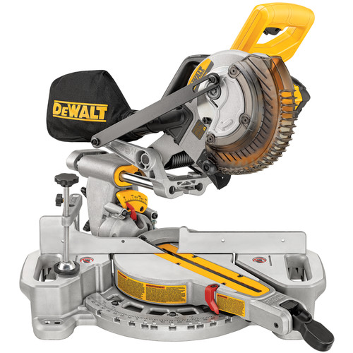 Factory Reconditioned Dewalt DCS361M1R 20V MAX Cordless Lithium-Ion 7-1/4 in. Sliding Compound Miter Saw Kit