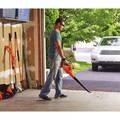 Black & Decker LSW221 20V MAX 1.5 Ah Cordless Lithium-Ion Sweeper Kit image number 4