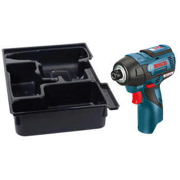 Bosch PS42BN 12V MAX Cordless Lithium-Ion EC Brushless 1/4 in. Hex Impact Driver (Tool Only)