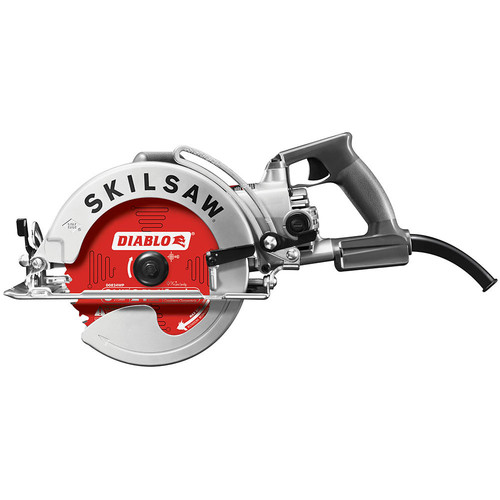 SKILSAW SPT78W-22 15 Amp 8-1/4 in. Aluminum Worm Drive Saw image number 1