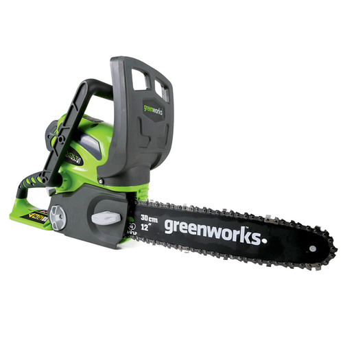 Greenworks 20292 40V G-MAX Cordless Lithium-Ion 12 in. Chainsaw (Bare Tool)