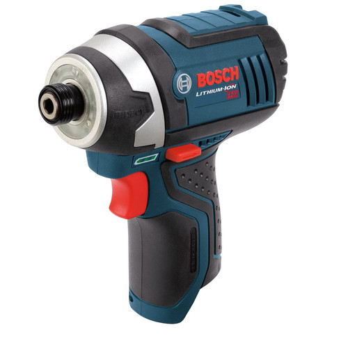 Bosch PS41BN 12V Max Lithium-Ion Impact Driver (Bare Tool) with Exact-Fit Tool Insert Tray
