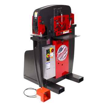 Edwards IW50-3P230-AC500 230V 3-Phase 50 Ton JAWS Ironworker with Hydraulic Accessory Pack