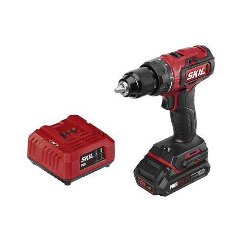 Skil DL529303 PWRCore 20 20V Brushless Lithium-Ion 1/2 in. Cordless Drill Driver Kit (2 Ah) image number 0