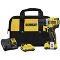 Dewalt DCD701F2 XTREME 12V MAX Brushless Lithium-Ion 3/8 in. Cordless Drill Driver Kit (2 Ah) image number 0