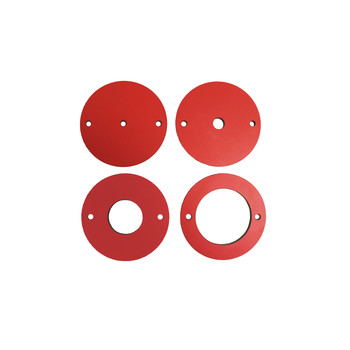 SawStop RT-PIR Phenolic Insert Ring Set for Router Plates (4 Pc)