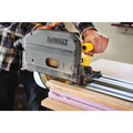 Dewalt DCS520ST1 FLEXVOLT 60V MAX 6-1/2 in. (165mm) Cordless Track Saw Kit with 59 in. Track image number 3