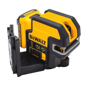 Dewalt DW0822LG 12V MAX Cordless Lithium-Ion 2-Spot Green Cross Line Laser image number 2