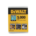 Dewalt DWHTTA7085 1/2 in. Heavy-Duty Narrow Crown Staples (5,000-Pack)