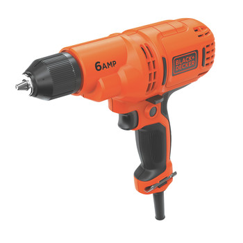 Black & Decker DR340C 6 Amp 3/8 in. Corded Drill Driver with Bag