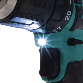 Makita FD09R1 12V max CXT Lithium-Ion Brushless 3/8 in. Cordless Drill Driver Kit (2 Ah) image number 4