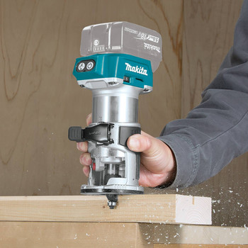 Makita XTR01Z 18V LXT Cordless Lithium-Ion Brushless Compact Router (Tool Only) image number 4
