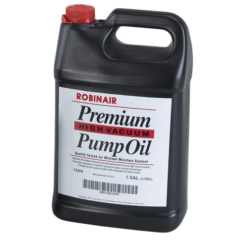 Robinair 13204 1 Gal. Premium High Vacuum Pump Oil image number 0