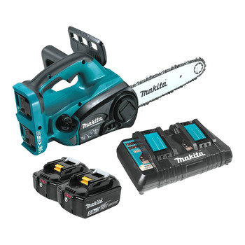 Makita XCU02PT 18V X2 LXT 5.0 Ah 12 in. Chainsaw Kit image number 0