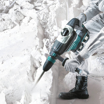 Makita XRH07PTUN 18V X2 LXT Lithium-Ion (36V) Brushless Cordless 1-9/16 in. Advanced AVT Rotary Hammer Kit (5 Ah) image number 10