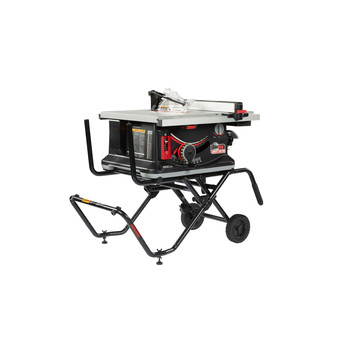SawStop JSS-120A60 15 Amp 60Hz Jobsite Saw PRO with Mobile Cart Assembly image number 0