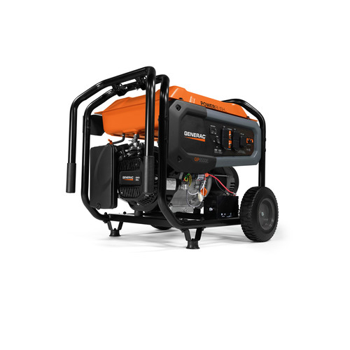 Generac 7682 GP6500E 6,500 Watt Portable Generator with Electric Start image number 0
