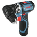 Factory Reconditioned Bosch GSR12V-140FCB22-RT 12V Lithium-Ion Max FlexiClick 5-In-1 1/4 in. Cordless Drill Driver System Kit (2 Ah) image number 2