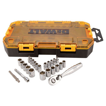 Dewalt DWMT73805 25-Piece Stackable 1/4 in. Drive Socket Set image number 1