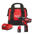 Milwaukee 2407-22 M12 Lithium-Ion 3/8 in. Drill/Driver Kit